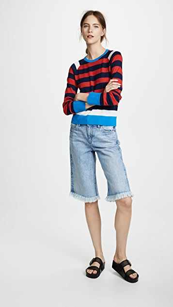 Axel Stripe Sweater by Equipment