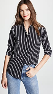 Equipment Excellence Stripe Essential Button Down Top