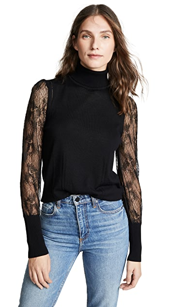 Equipment Sid Lace Sweater