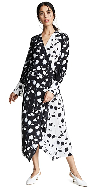 Equipment Neema X-Ray Floral Dress
