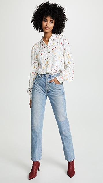 Equipment Fleur Cascade Marcilly Button Down Shirt