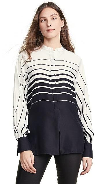 Equipment Sedaine Stripe Button Down Shirt