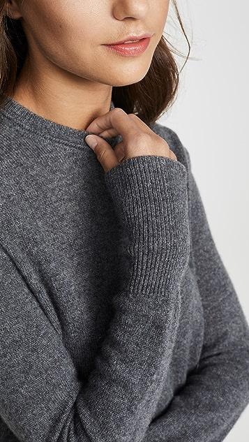 Equipment Кашемировый свитер Sanni с округлым вырезом