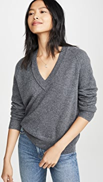 Madalene Cashmere V Neck Sweater