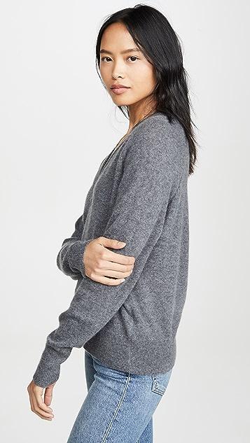 Equipment Кашемировый свитер с V-образным вырезом Madalene