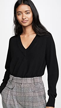 Madalene V Neck Cashmere Sweater