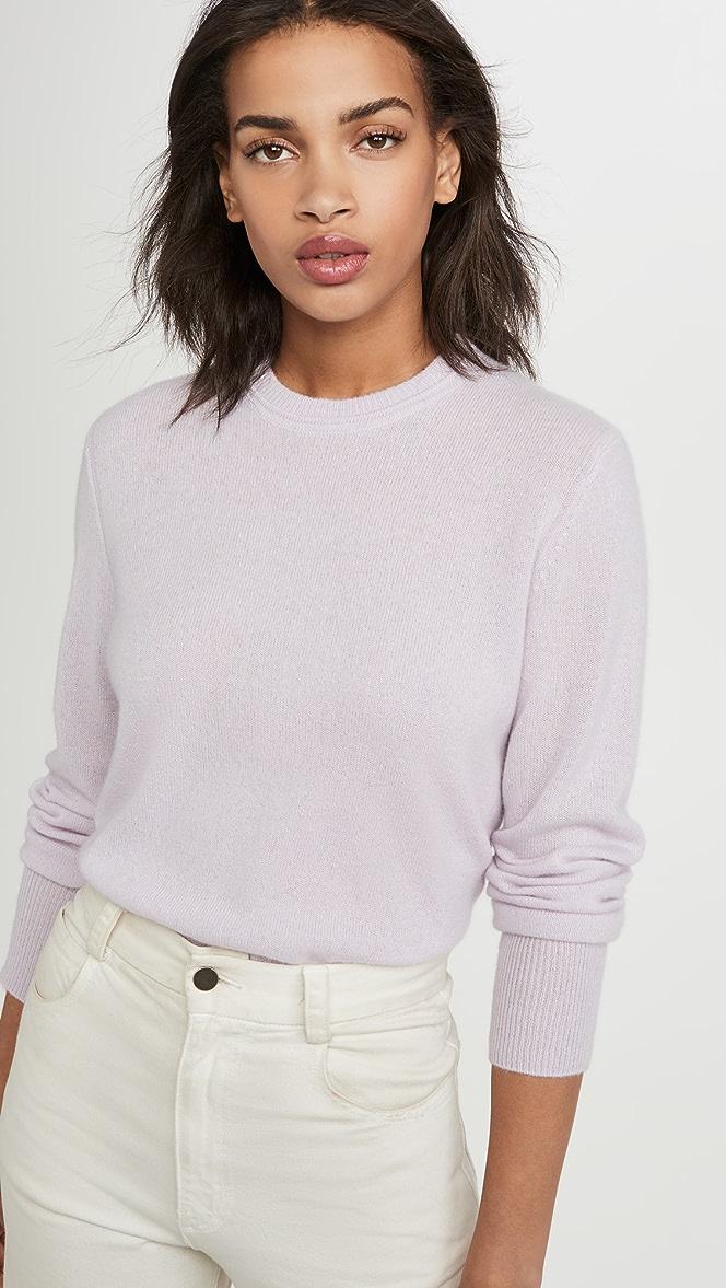 Equipment Sanni Crew Neck Cashmere Sweater | SHOPBOP
