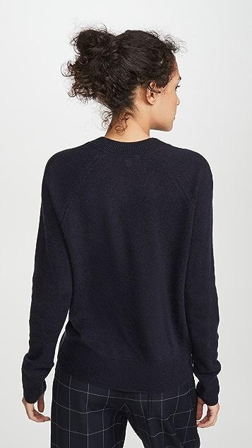 Equipment Cashmere Madalene V Neck Sweater