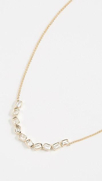 Era 14k Gold Brick Brigade Stack Necklace