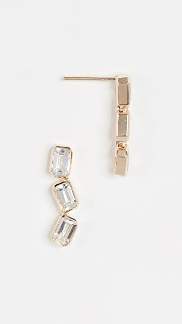 Era 14k Gold Brick Brigade Stack Earrings