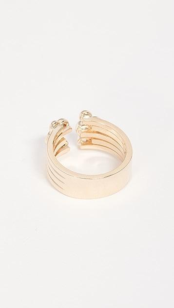 Era 14k Gold Poppy Bulb Ring