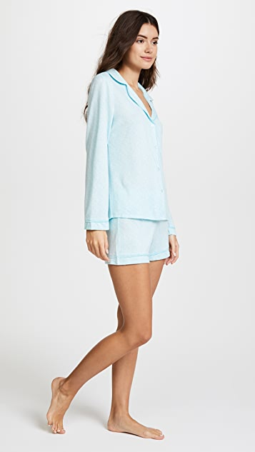 Emerson Road WhisperLuxe Notch Collar PJ Set