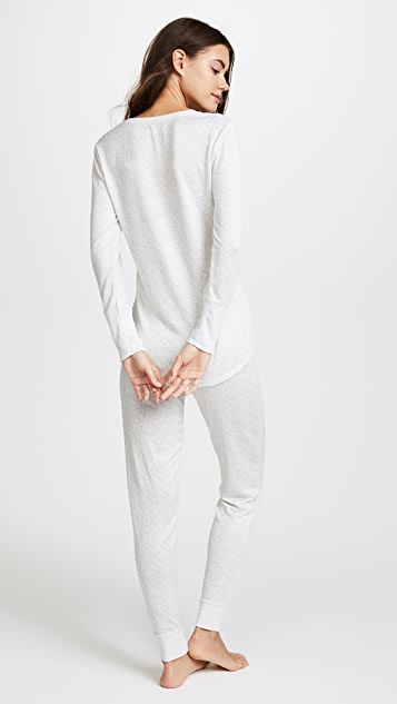 Emerson Road WhisperLuxe Long Johns PJ Set