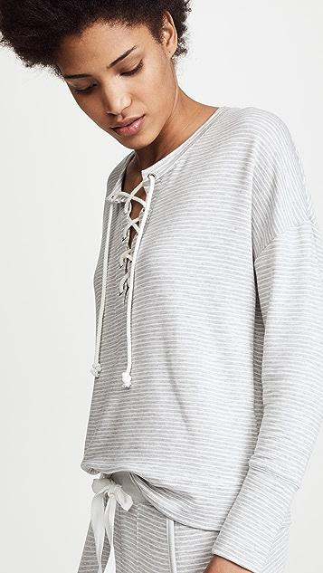 Emerson Road Butter Knit True Stripe PJ Set