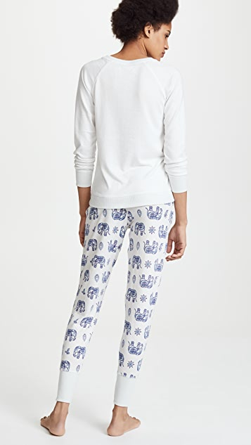 Emerson Road Bengali Elephant PJ Set