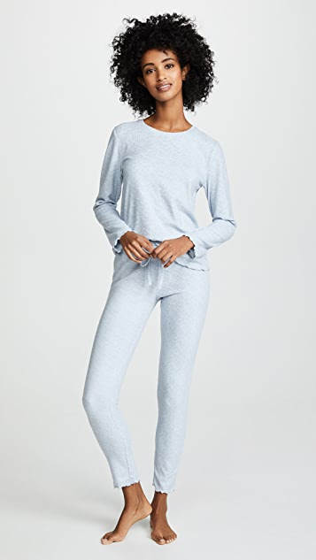 Emerson Road It's All About Texture Long Sleeve PJ Set
