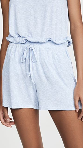 Emerson Road Space Tie Short PJ Set