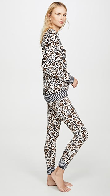 Emerson Road Fuzzy Luxe PJ Set