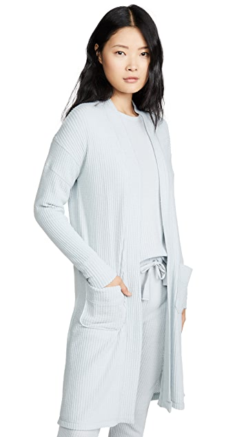 Emerson Road Fuzzy Luxe Waffle Robe
