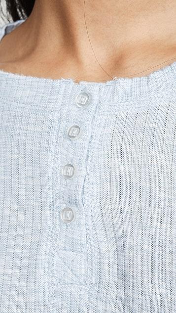 Emerson Road Пижама Whisperluxe с вафельной текстурой