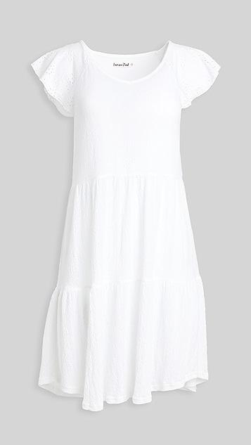 Emerson Road 白色圆孔衬裙