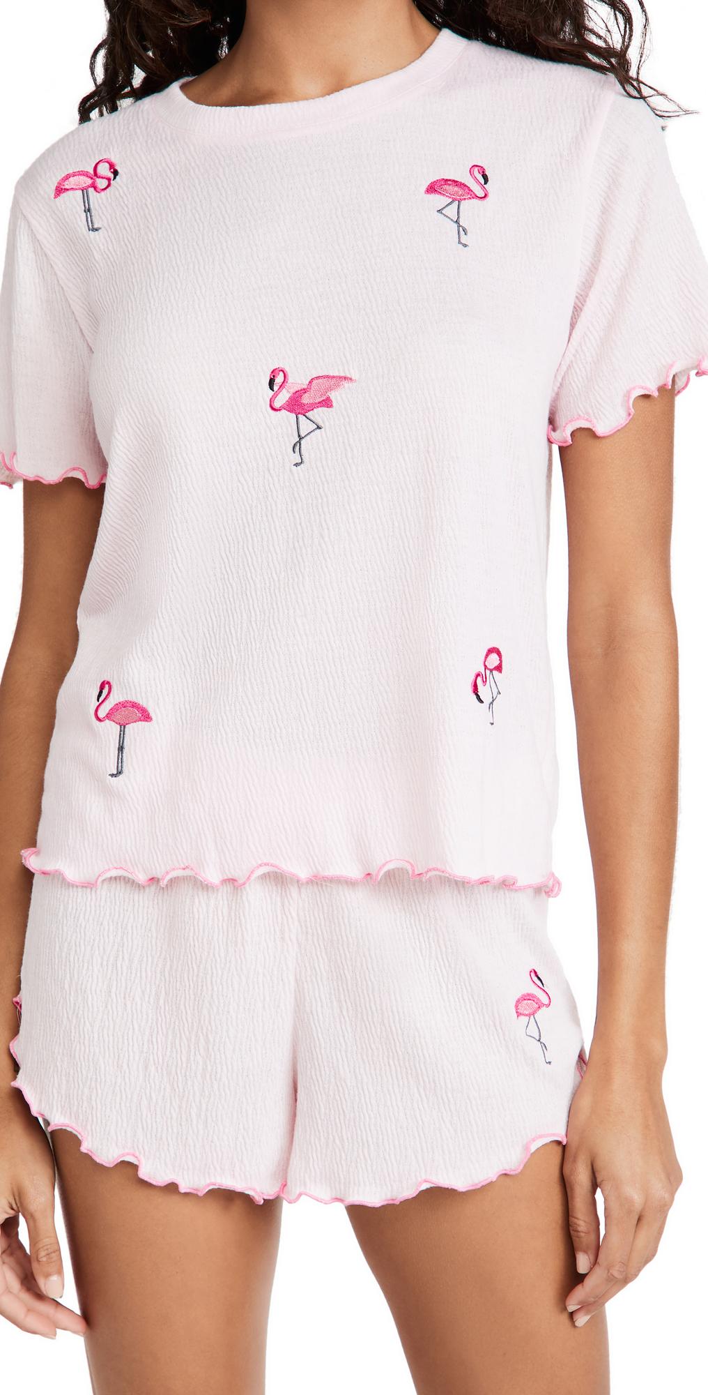Tee & Shorts Pajama Set