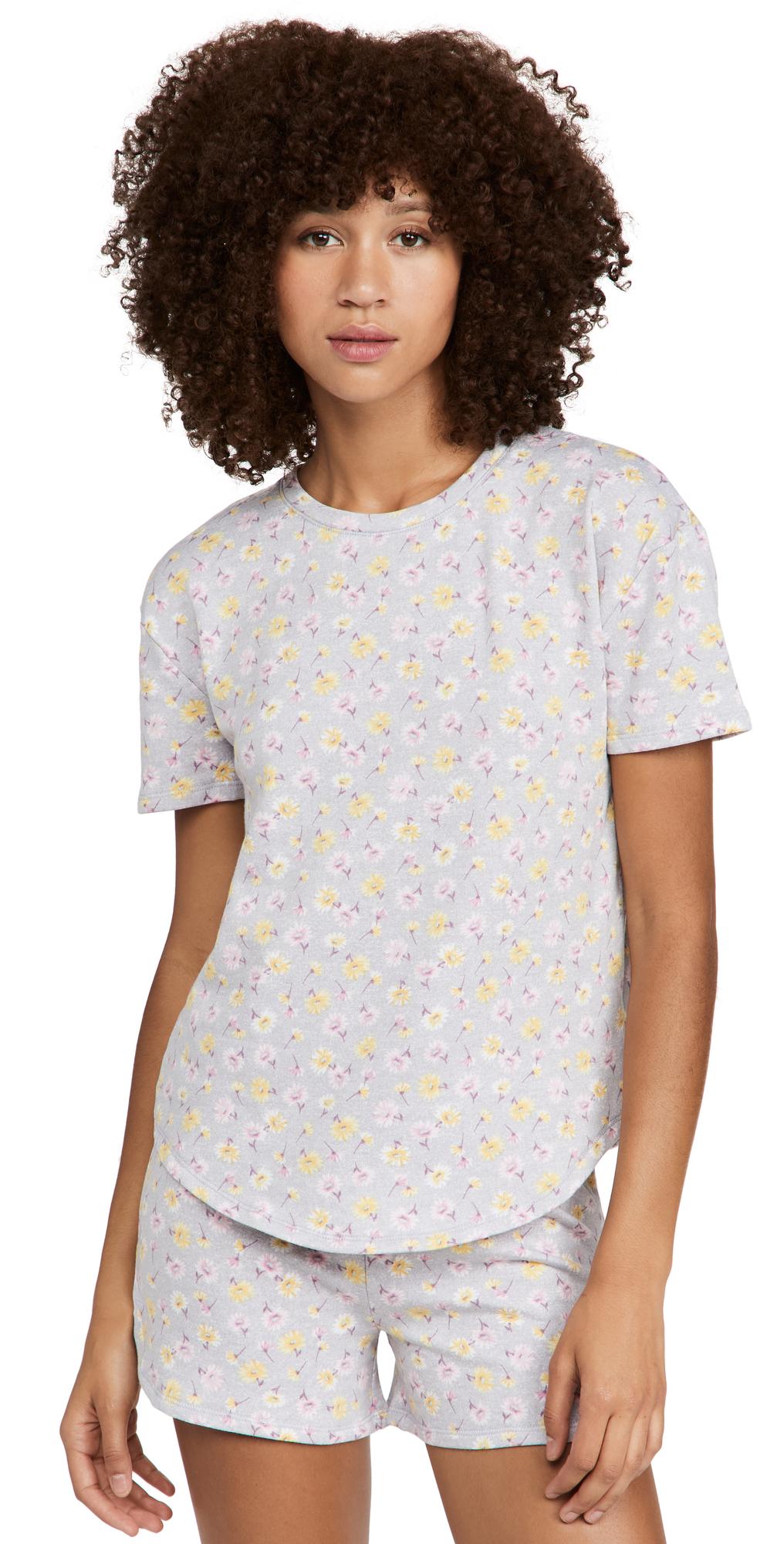 Daisy Shorts PJ Set