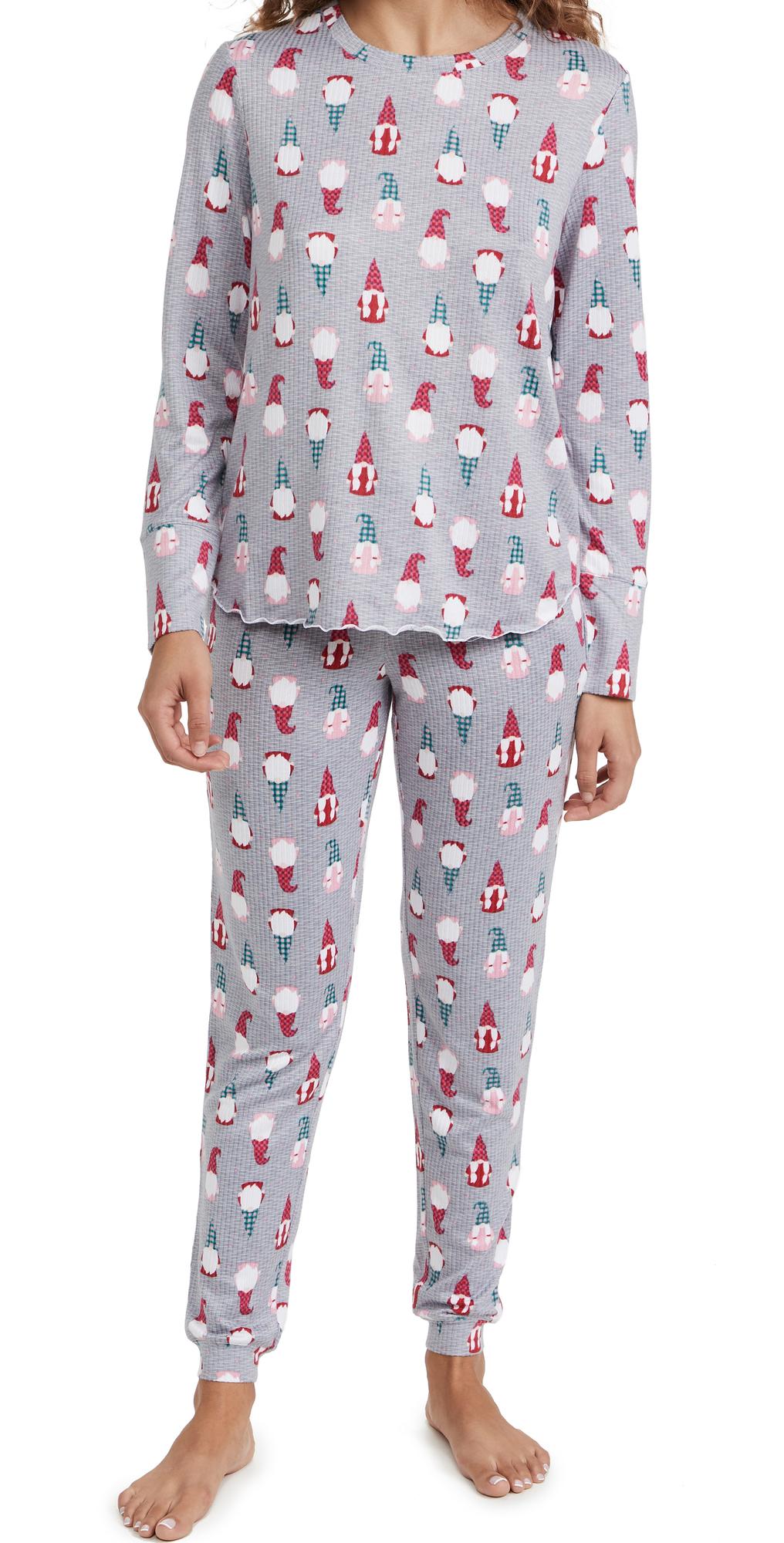 Sleepy Gnomes Jogger PJ Set
