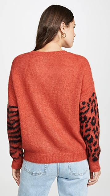 Essentiel Antwerp Triboli Animal Pattern Sweater