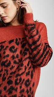 Essentiel Antwerp Triboli Animal Pattern Sweater