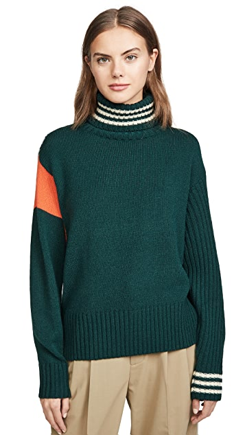 Essentiel Antwerp Twister High Collar Sweater