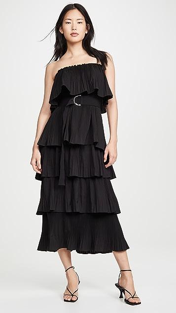 Essentiel Antwerp Valentina Ruffled Dress