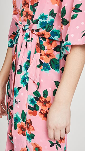 Essentiel Antwerp Vayen Draped Detail Dress
