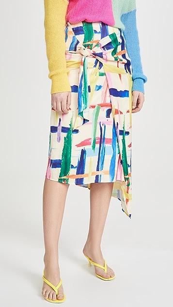 Essentiel Antwerp Vavocado 不对称半身裙