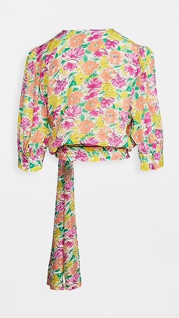 Essentiel Antwerp Wariah 裹身款式上衣