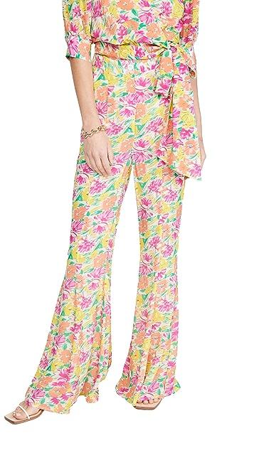 Essentiel Antwerp Waima 印花喇叭裤