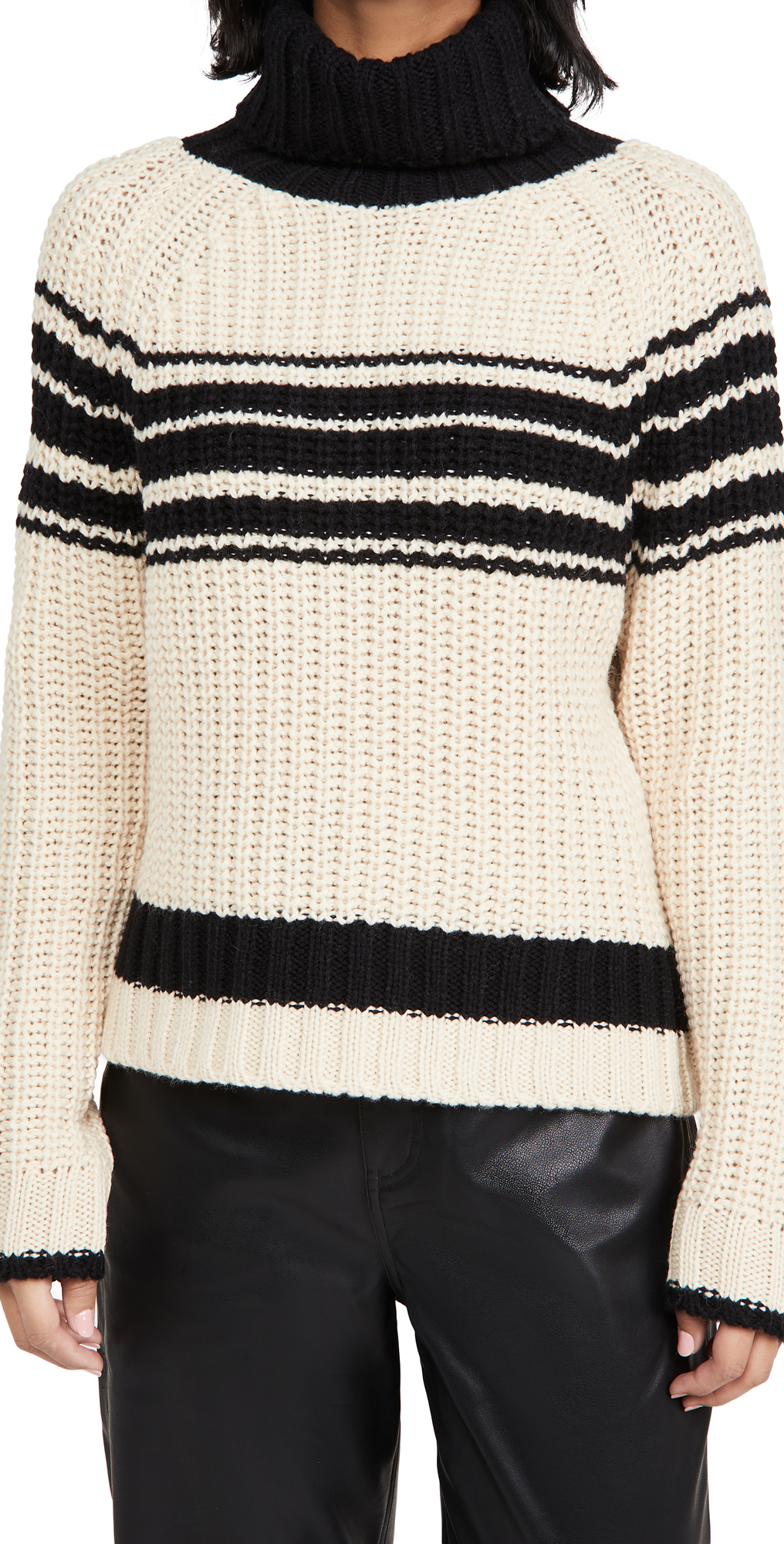 Essentiel Antwerp Weyond Stripes Ribs Pullover