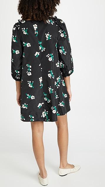 Essentiel Antwerp Zirror Tafta Mini Dress