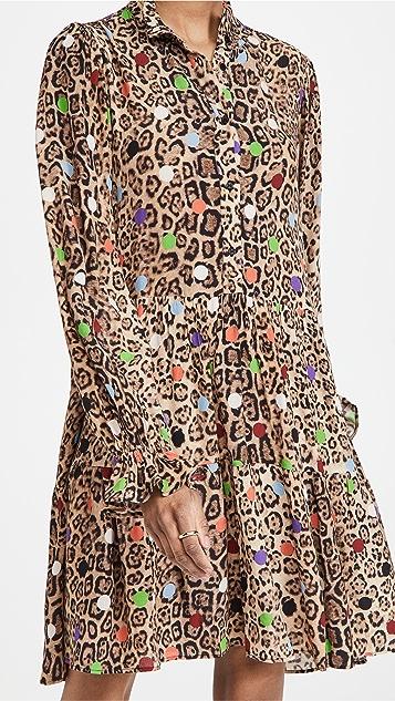 Essentiel Antwerp Zex Ruffled Collar Dress