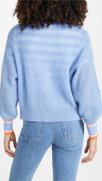 Essentiel Antwerp Zagazid Kid Mohair Cardigan