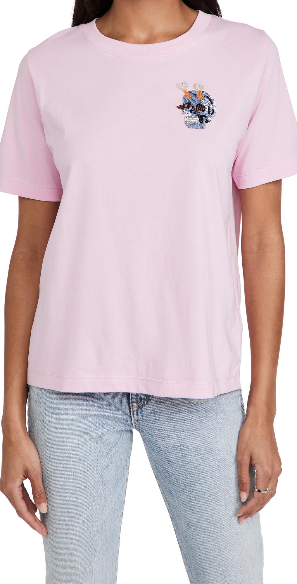 Essentiel Antwerp Ziland T-Shirt with Embo