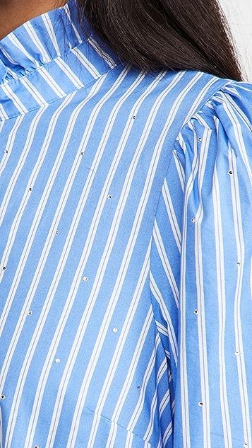 Essentiel Antwerp Zinga 棉质连衣裙