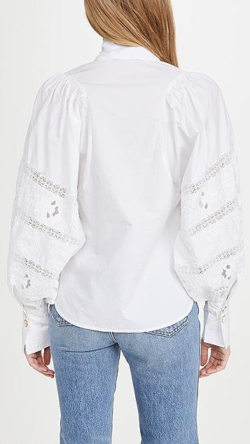 Essentiel Antwerp Witching 灯笼袖衬衫