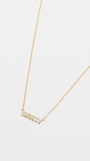 Established 14k Gold Shorty Necklace