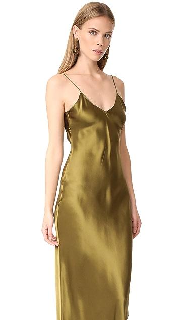 Emerson Thorpe Pipa Long Slip Dress