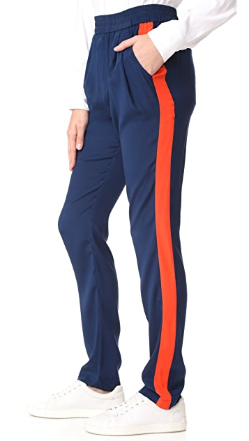 Emerson Thorpe Logan Silk Track Pants