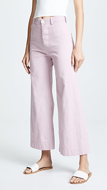 Emerson Thorpe Ryan High Waist Wide Leg Pants
