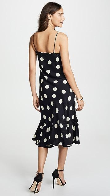 e50faf829e384 Emerson Thorpe Macy Silk Flounce Dress   SHOPBOP