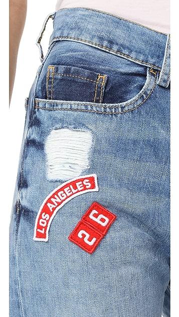 Etienne Marcel Dynasty Sticker Jeans