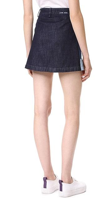 Etienne Marcel Patchwork Skirt